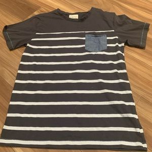 3/$15 Sovereign code striped shirt with pocket